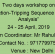Two days workshop on Protection-Tripping Sequence and DR Analysis 24-25 April 2019, NPTI Faridabad