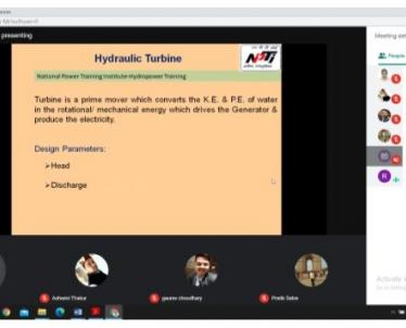 Session by Sh. Rahul Pandey, Assistant Director, NPTI Faridabad