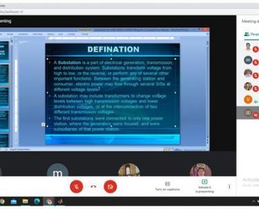 Session by Smt. Vatsala Sharma, Deputy Director, NPTI Faridabad
